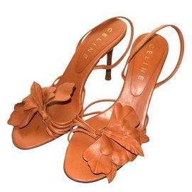 Céline-Sandals-Caramel