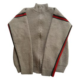 Gucci-Sweaters-Grey