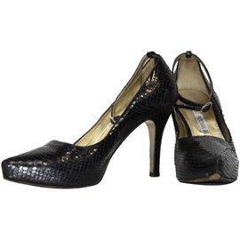 Luciano Padovan-Heels-Black