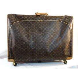 Louis Vuitton-Valise XXXL  vuitton-Marron,Autre