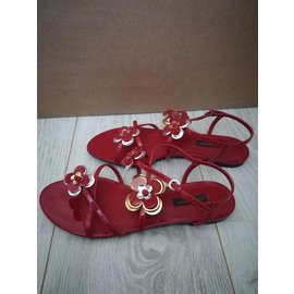 Louis Vuitton-Sandales-Rouge