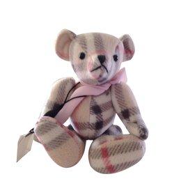 Burberry-merveilleux doudou teddy bear BURBERRY cachemire neuf .-Beige