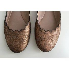 Chloé-Ballet flats-Bronze