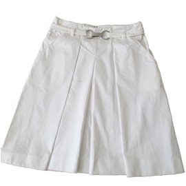 Céline-Skirts-White