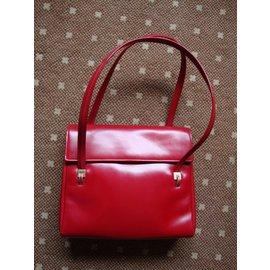 Vintage-Sacs à main-Rouge