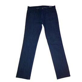 Miu Miu-jeans slim miu miu-Bleu Marine