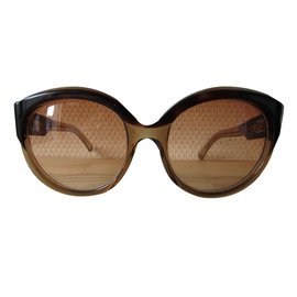 Céline-Vintage Sunglasses-Light brown,Dark brown