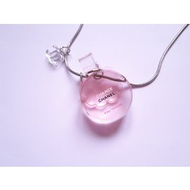 Chanel-Necklace-Pink