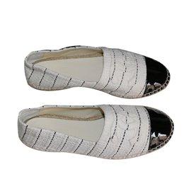 Chanel-Espadrilles-Blanc