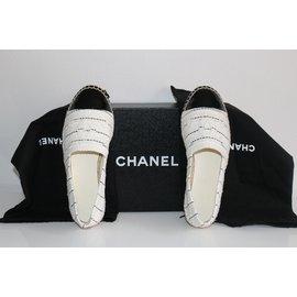 Chanel-Espadrilles-White