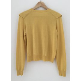 Chloé-Knitwear-Yellow