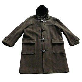"""Autre Marque-Manteau duffle coat """"Montgomery"""" Kaki T.50 /UK 40-Kaki"""