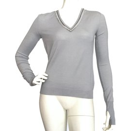 Yves Saint Laurent-Tops-Gris