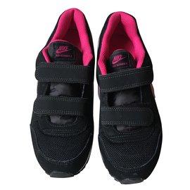 Nike-Basket Nike enfant-Noir,Rose,Blanc