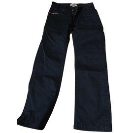 Burberry-Jeans-Noir,Bleu Marine