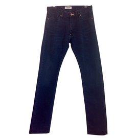 Acne-Jeans homme-Noir