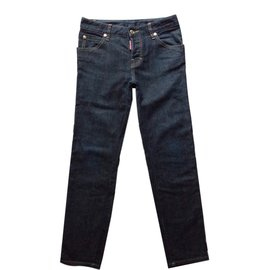 Dsquared2-JEANS LUXE-Bleu