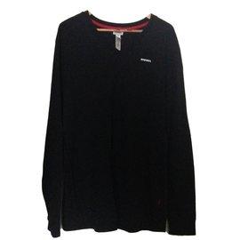 Diesel-Haut de Pyjama-Noir