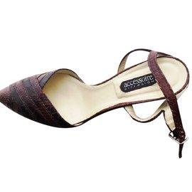 5f1ee59844188 ... Autre Marque-Sandales Accessoire Diffusion - Neuves-Marron
