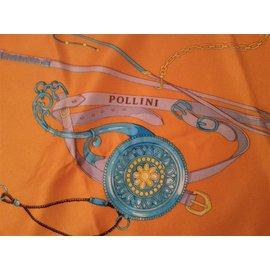 Pollini-Carrés-Orange