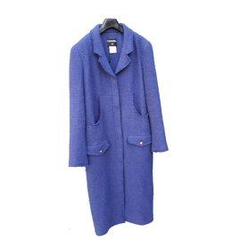 Chanel-Manteaux-Bleu