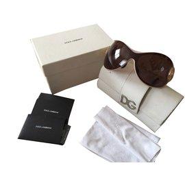 Dolce & Gabbana-Lunettes-Marron