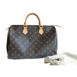 Louis Vuitton-Speedy 35-Marron