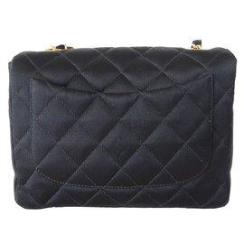 Chanel-SAC CLASSIQUE PM-Noir