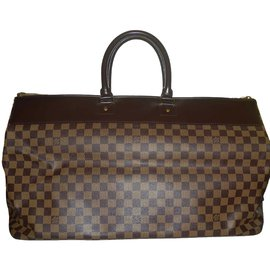Louis Vuitton-Greenwich GM toile damier marron-Marron foncé