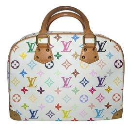 Louis Vuitton-Murakami multicolore toile-Blanc,Multicolore