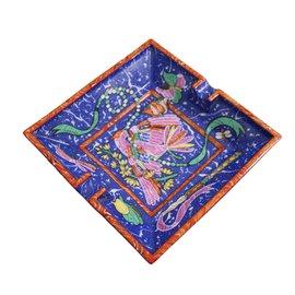 Hermès-Cendrier-Multicolore