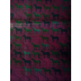 Hermès-Tampon graphique-Multicolore