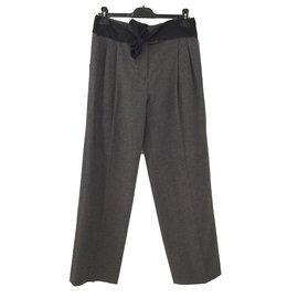 Lanvin-Pantalons-Gris
