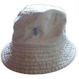 Polo Ralph Lauren-Chapeaux, bonnets, gants-Beige