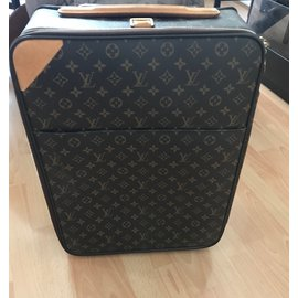 Louis Vuitton-BAGAGE CABINE-Marron