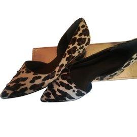 Belle Sigerson Morrison-Ballet flats-Leopard print