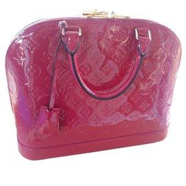 Louis Vuitton-Alma moyen modéle-Rose,Violet