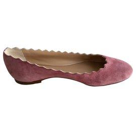 Chloé-Ballet flats-Pink