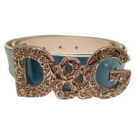Dolce & Gabbana-Ceintures-Bleu