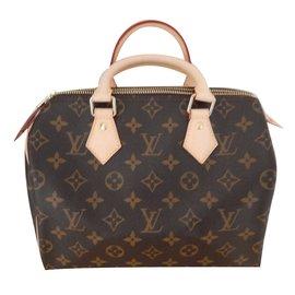 Louis Vuitton-Speedy 25 Monogram-Marron