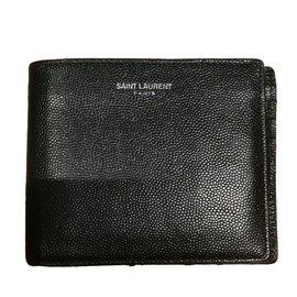 Yves Saint Laurent-Geldbörsen Kleines Zubehör-Schwarz