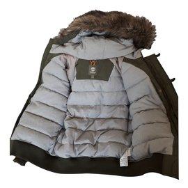 Timberland-Blazers Jackets-Grey,Khaki