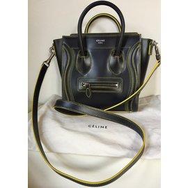 Céline-nano luggage-Noir
