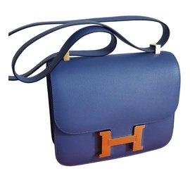 Hermès-Constance 24-Blue