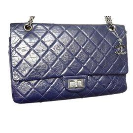 Chanel-2.55 Reissue-Navy blue