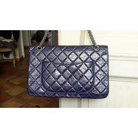 Chanel-2.55 Reissue-Bleu Marine