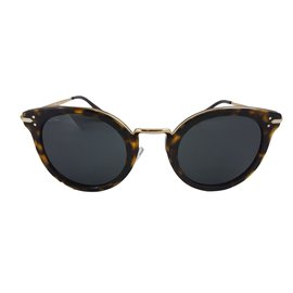Céline-CAT EYE SUNGLASSES IN ACETATE AND METAL-Other