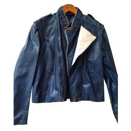 Marc Jacobs-Veste bleu marc jacobs-Bleu