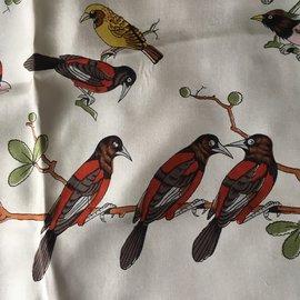 """Hermès-""""Les oiseaux sur un fil"""" Hugo GRYGKAR-Multicolore"""