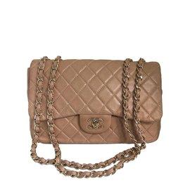 Chanel-Sacs à main-Beige